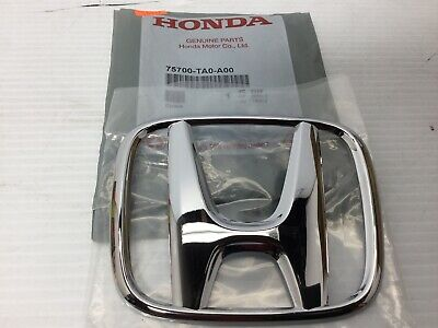 2009-2018 Honda Civic, Accord & Cr-V Front Grille Emblem Oem (75700-Ta0-A00)