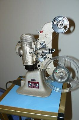 Bell & Howell 606H Standard 8mm Cine Projector with 3 lenses