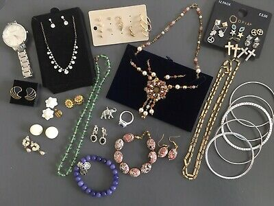 Job Lot Mixed Modern/Vintage Costume Jewellery