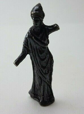 Ancient  Bronze-in original style  Amulet mini Figure GOD