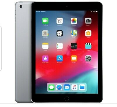 New Sealed Apple iPad 6th Gen 32GB Space Gray 9.7 Wifi 2018