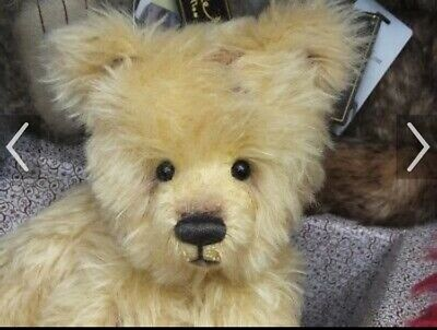 """Gorgeous Mohair Charlie Bear """"Heritage"""" . Just 400 Made. Isabelle Lee."""