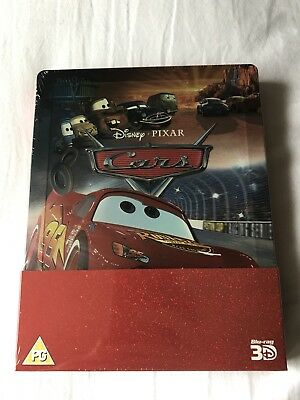 Cars Disney Pixar Steelbook Blu Ray Dvd