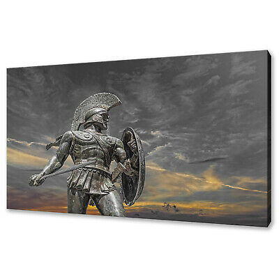 Leonidas The Warrior King Of Greek Sparta Canvas Print Wall Art Picture