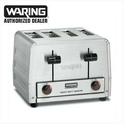 Waring WCT815b Heavy Duty Combination Toast Bagel Toaster 208 Volt commercial