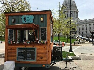 Food Cart Trailer Madison Wisconsin