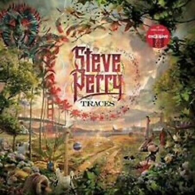 Steve Perry Traces CD SEALED New 2018 OMT Productions TARGET BONUS +5