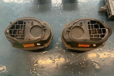 BMW E36 Harman Kardon Rear Deck Speakers 65138366454 65138366453