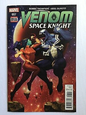 Venom: Space Knight #7 1st App Tarna Cover - Flash Thompson - Marvel Comics 2016