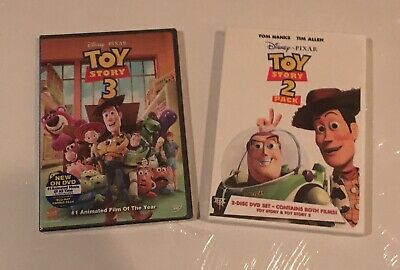 Toy Story Trilogy DVDs - Toy Story 1,  2 and 3!!  NEW Toy Story 3 DVD