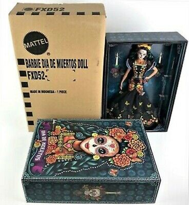 BARBIE DAY OF THE DEAD Barbie Dia De Los Muertos ITEM IN HAND. Will ship ASAP!