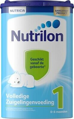 5x Nutrilon 1 standard 100% original Dutch Baby Powder Milk