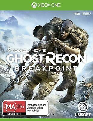 TOM CLANCYS GHOST RECON BREAKPOINT Xbox One Brand New Sealed
