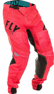Fly Racing Lite Hydrogen Pants 36 Blue/Coral 373-73936