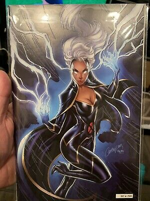 NYCC 2019 Marvel Comics Exclusive HOUSE of X 5 Storm J Scott Campbell Limited