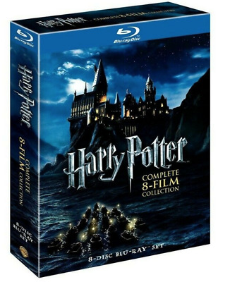 New Harry Potter: Complete 8-Film Collection (Blu-ray Disc, 2011, 8-Disc Set)