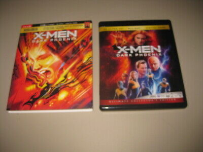 X-MEN DARK PHOENIX Target Exclusive SLIPCOVER 4K + BLU-RAY with Poster