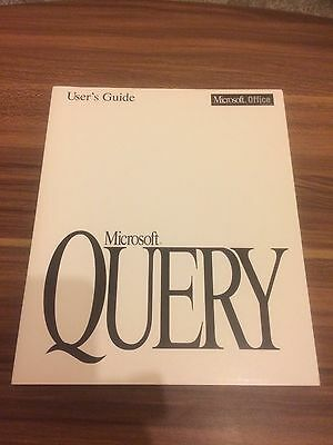Microsoft Office Query Manual