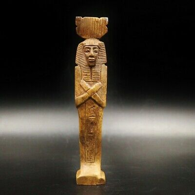 Fine Antique Egyptian STONE Ushabti (Shabti) Statue Figure...ONE OF A KIND