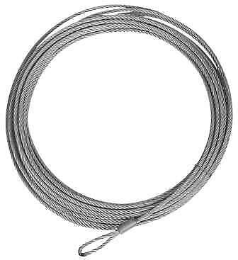 """Winch Cable 39' X 3/16"""" 2500"""