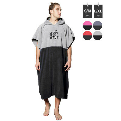 Beach Towel Changing Robe Surf Poncho Men and Women for Easy Change in Public