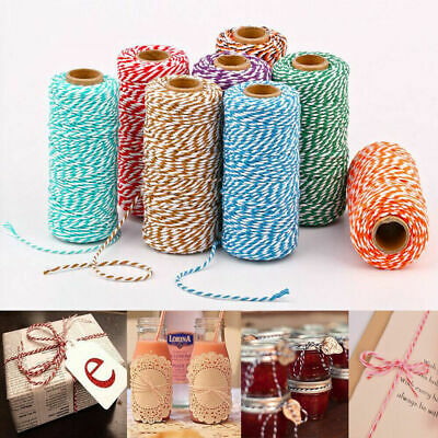 100m Cotton Twine Rope String Cord Gifts Wrapping Handmade Packaging Rope