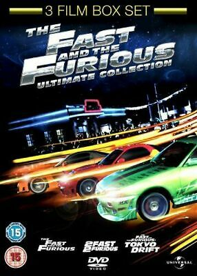 The Fast And The Furious Ultimate Collection Trilogy DVD New & Sealed