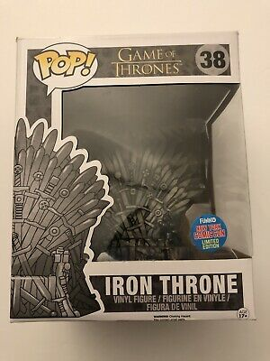 Irone Throne Funko POP Game Of Thrones NYCC