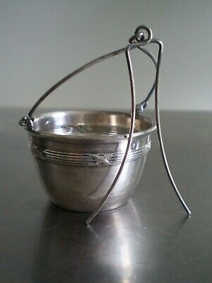 Strainer a the Solid Silver Minerve Goldsmith Art Table Antique Decoration Frizz
