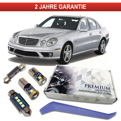SMD LED Innenraumbeleuchtung Mercedes W203 S203 C-Klasse rot Innenlicht Benz MB