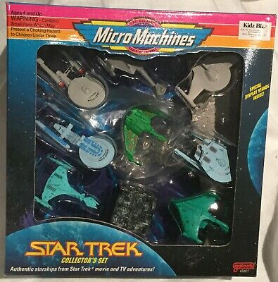 Star Trek Micro Machines Limited  edition Collector's 9 Vehicle Item No:65831..
