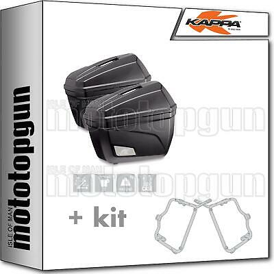 Kappa Valises Laterales K22N + Liaison Rapide Bmw F 800 Gt 2017 17 2018 18