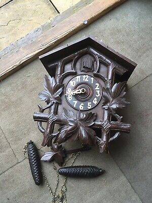 Antique Black Forest Cuckoo Clock £250