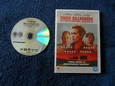 Three Billboards Outside Ebbing, Missouri (Dvd 2017)