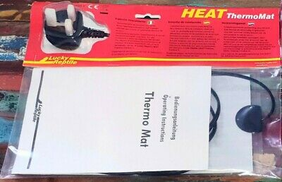 Brand New Sealed Lucky Reptile Thermal Thermo Heat Mat