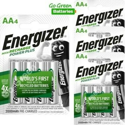 16 X Aa Energizer Extreme Rechargeable Batteries 2000Mah.