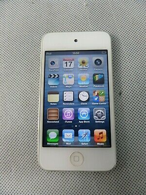 Apple iPod Touch 4th Generation 16GB Storage Camera White 30 Pin Port A1367