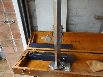 "Chesterman 24"" / 600 mm vernier height gauge, no 369"