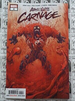 Absolute Carnage (2019) Marvel - #4, Donney Cates/Ryan Stegman, NM
