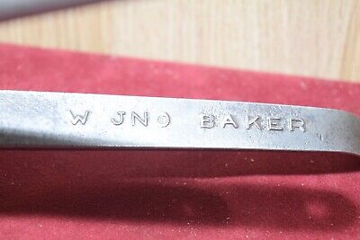 Vintage W.JNO Baker Pastoral Supplies Cattle Marking Pliers  Old Tools