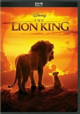 Lion King 2019 (Live Action) DVD New  Ships 10/22