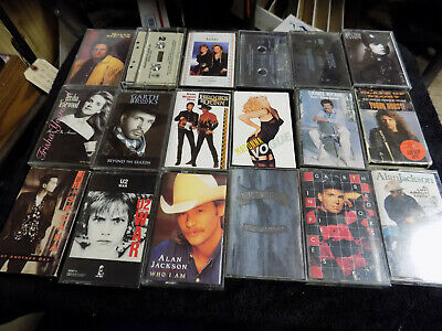 Music Cassette Tapes: Rock, Pop, Country, Oldies, Jazz, R&B... FREE S&H