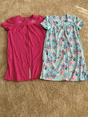 Womens House Dress Night Grown NWT  size Large Lot Of 2