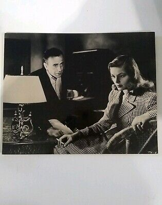Humphrey Bogart Lauren Bacall photo print 8x10 Black White To have and to have n
