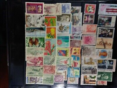 Worldwide Stamps , lot of100 mixed,  used stamps, including pre-1960 vintage.