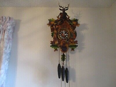 Vintage Musical Hunters Cuckoo Clock