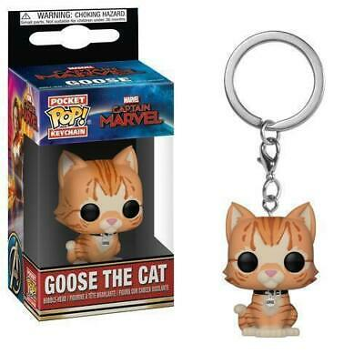 Funko Pop! Keychain Marvel - Captain Marvel - Goose The Cat Toy