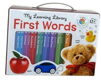 My Learning Library: First Words ~ 8 Board Books ~ 12m+