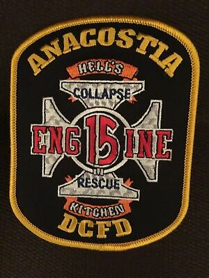 Fire Department Patch Anacostia Engine 15 DCFD Hell's Kitchen Collapse Rescue