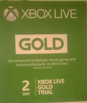 Xbox Live 48 Hour (2 Days) Gold Trial Code